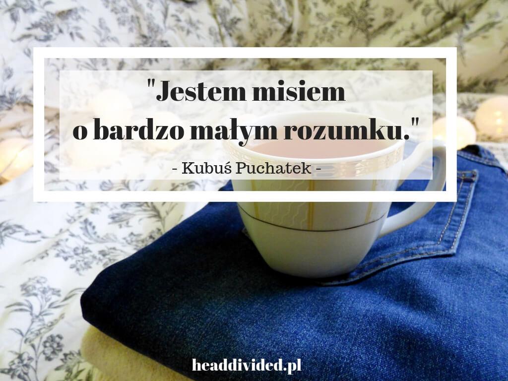Jestem misiem o bardzo małym rozumku - najlepsze cytaty Kubusia Puchatka w filmie Krzysiu, gdzie jesteś