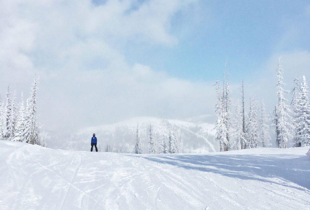 Snowboarding Wolf Creek Colorado