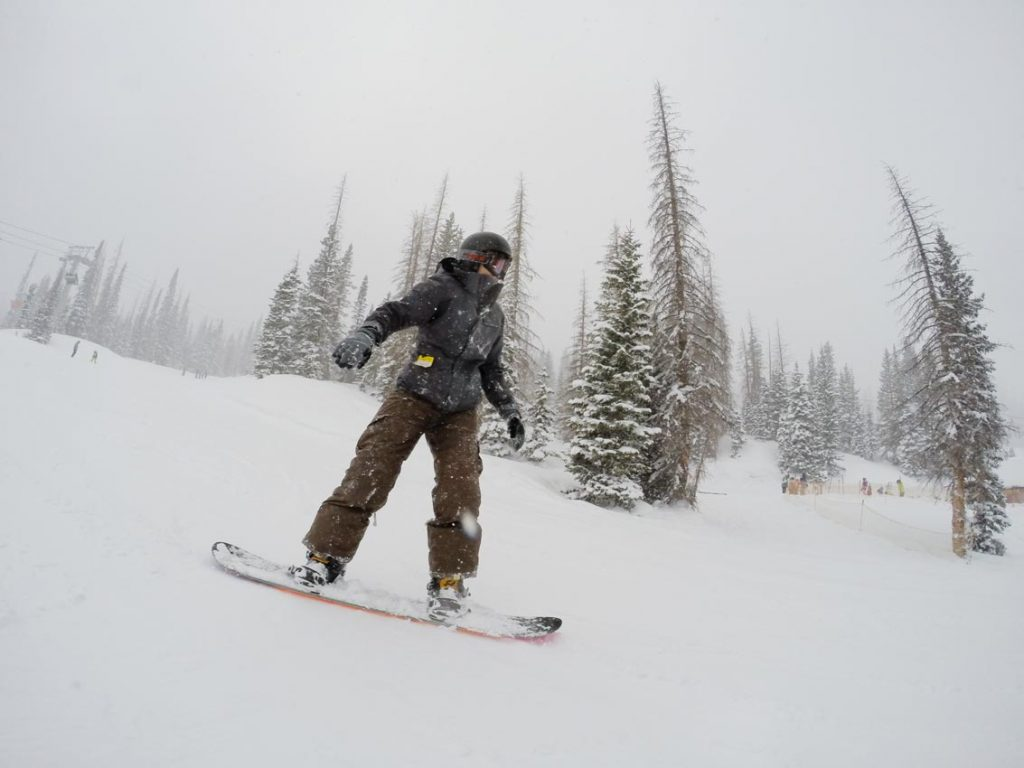 How to Make this Your Year of Adventure - Snowboarding Wolf Creek Colorado