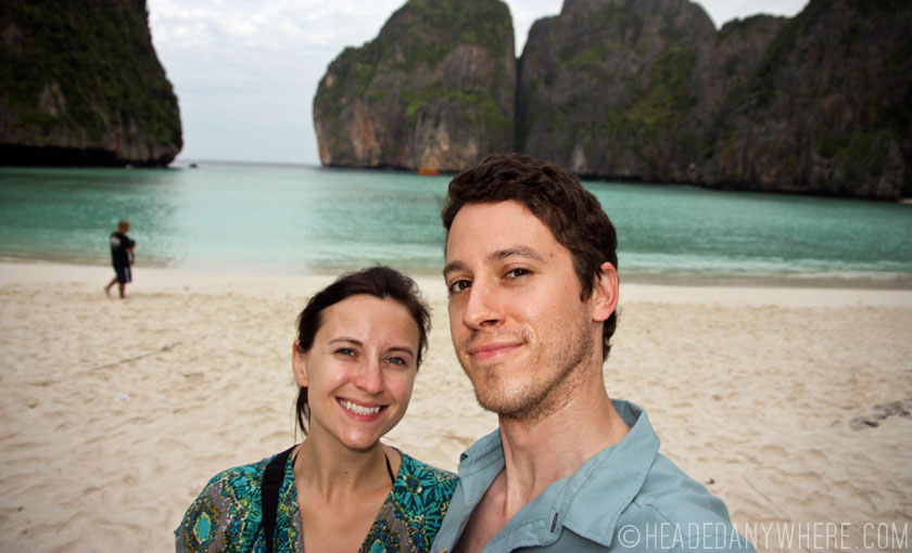 Maya Bay Selfie