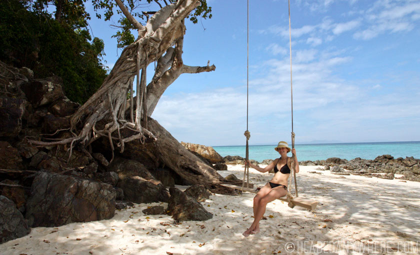 Swing on Bamboo Island