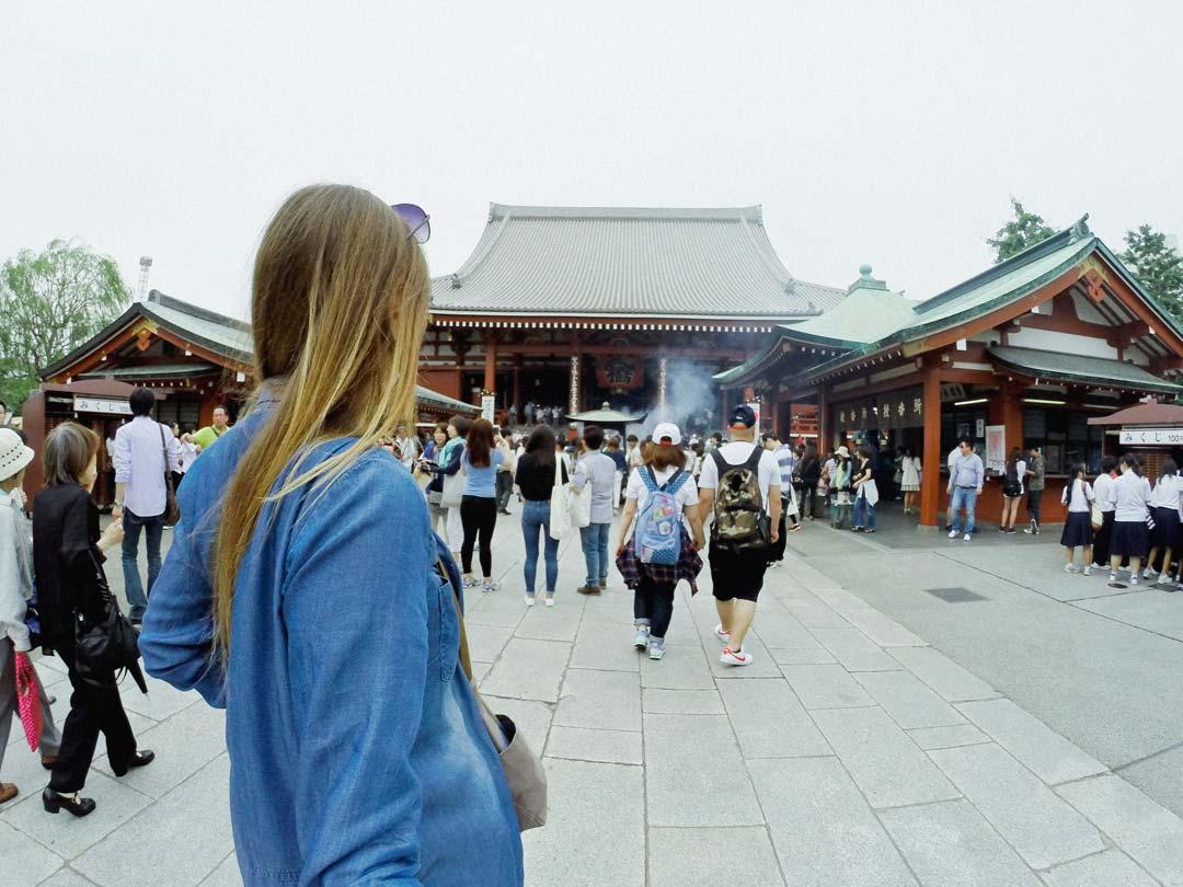 Sensoji (Asakusa Kannon Temple) Tokyo