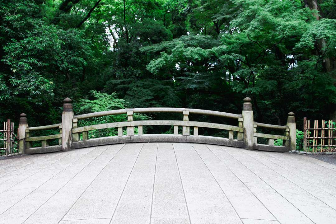 Tokyo Meiji Park Bridge