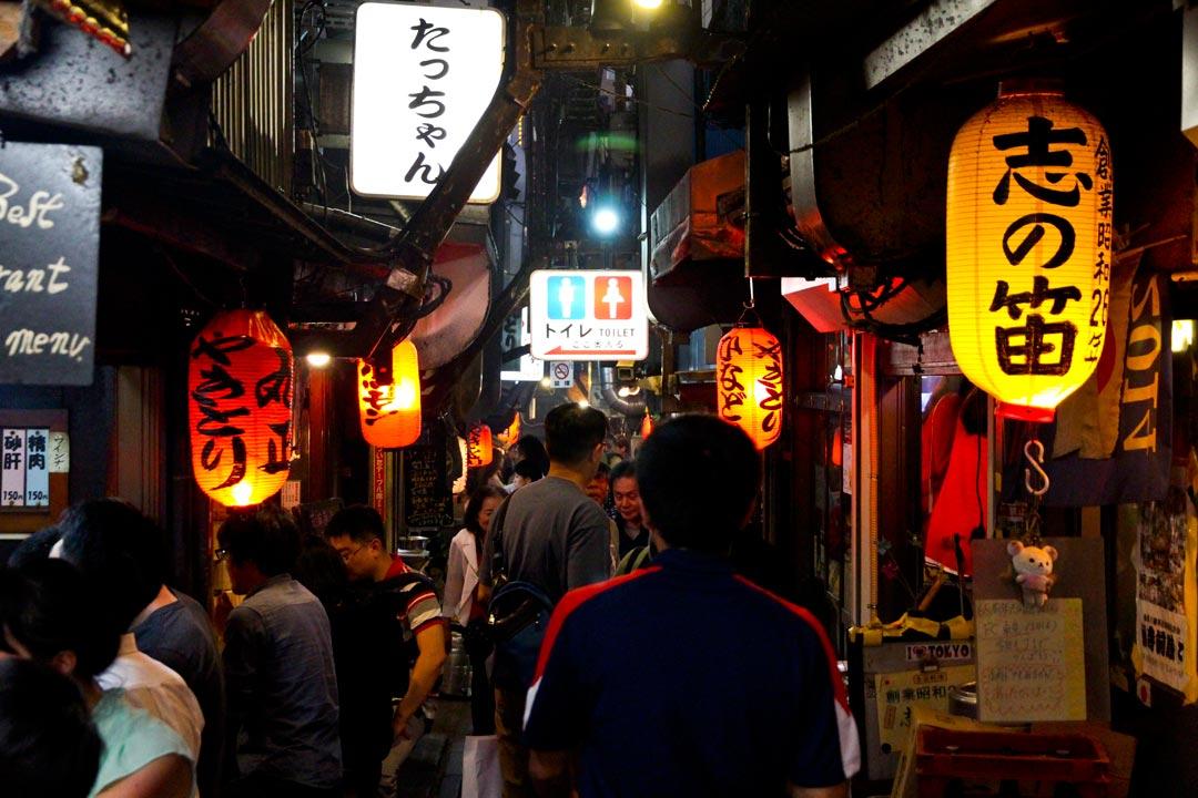 Tokyo Omoide Yokocho (Piss Alley)
