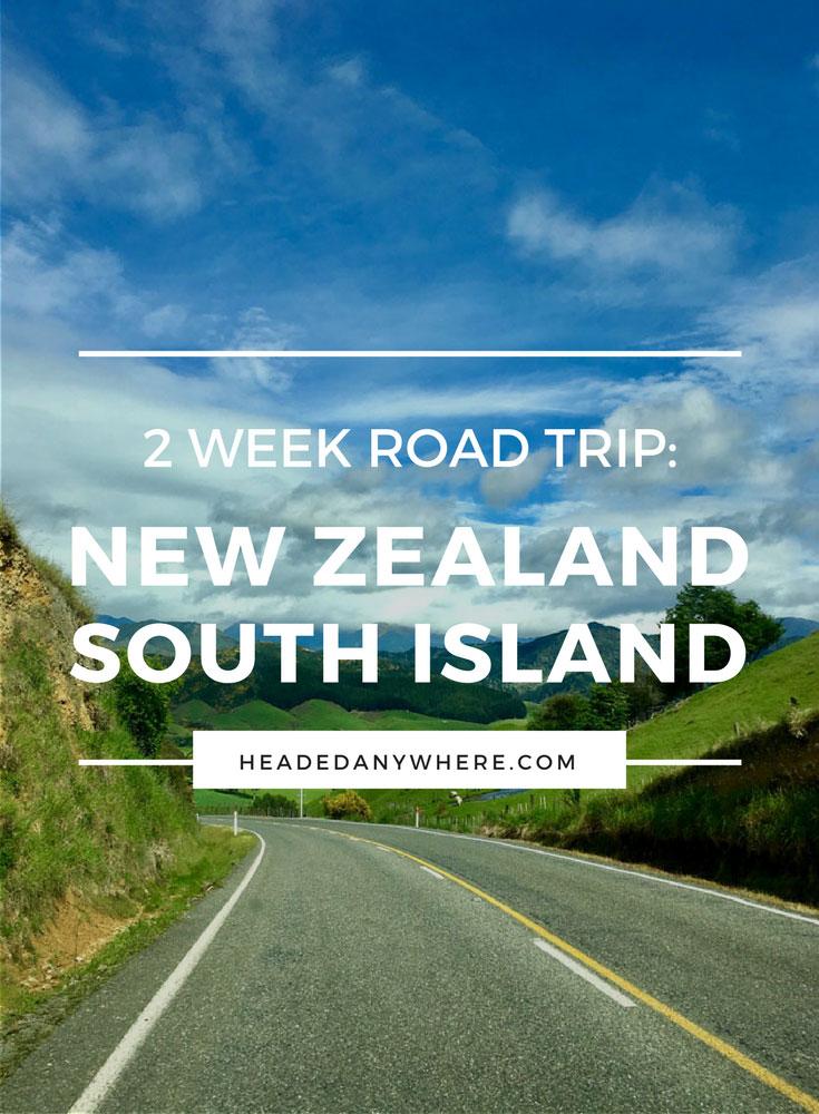 Drive to Franz JosefNew Zealand Pinterest Image