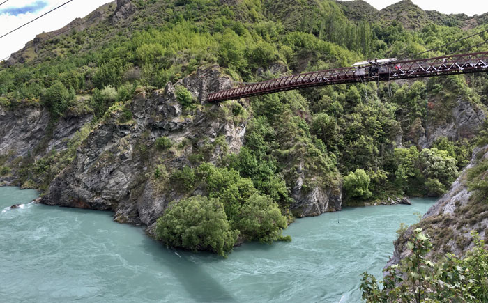 AJ Hackett Bungee Jump New Zealand Road Trip