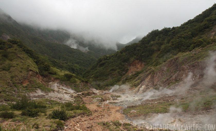 Boiling Lake Trail Desolation Valley