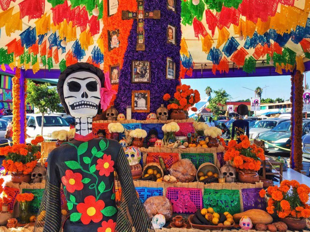 Dia De Los Muertos In Tijuana Mexico Headed Anywhere