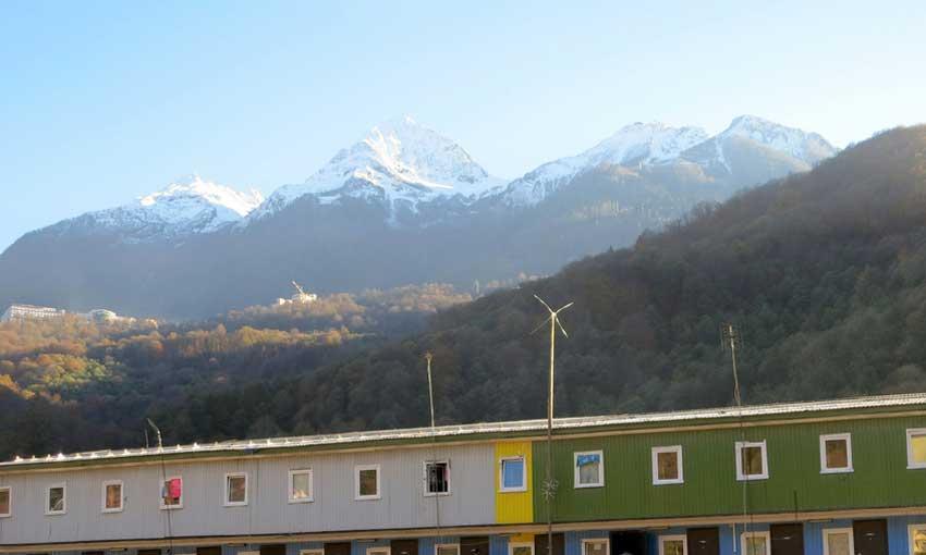 Sochi Olympic Mountains - Krasnaya Polyana