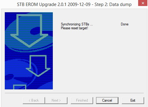 step 3 stb release backup dump