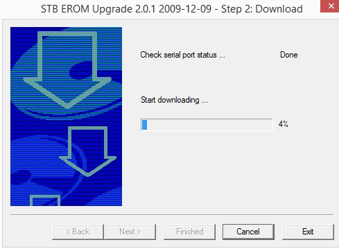 step 4 stb release upgrade software pc