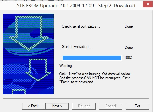 step 5 stb release upgrade software pc download
