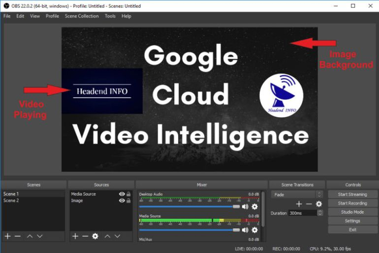 Video Streaming Using OBS Studio On Professional Video Streaming Platform