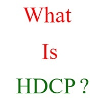 what is hdcp