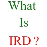 what is ird
