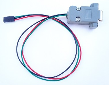 rs232 to 3 pin cable for set top box software upgrade