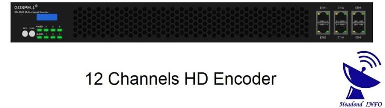 12 channels hd encoder