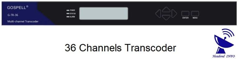 36 channels transcoder buy
