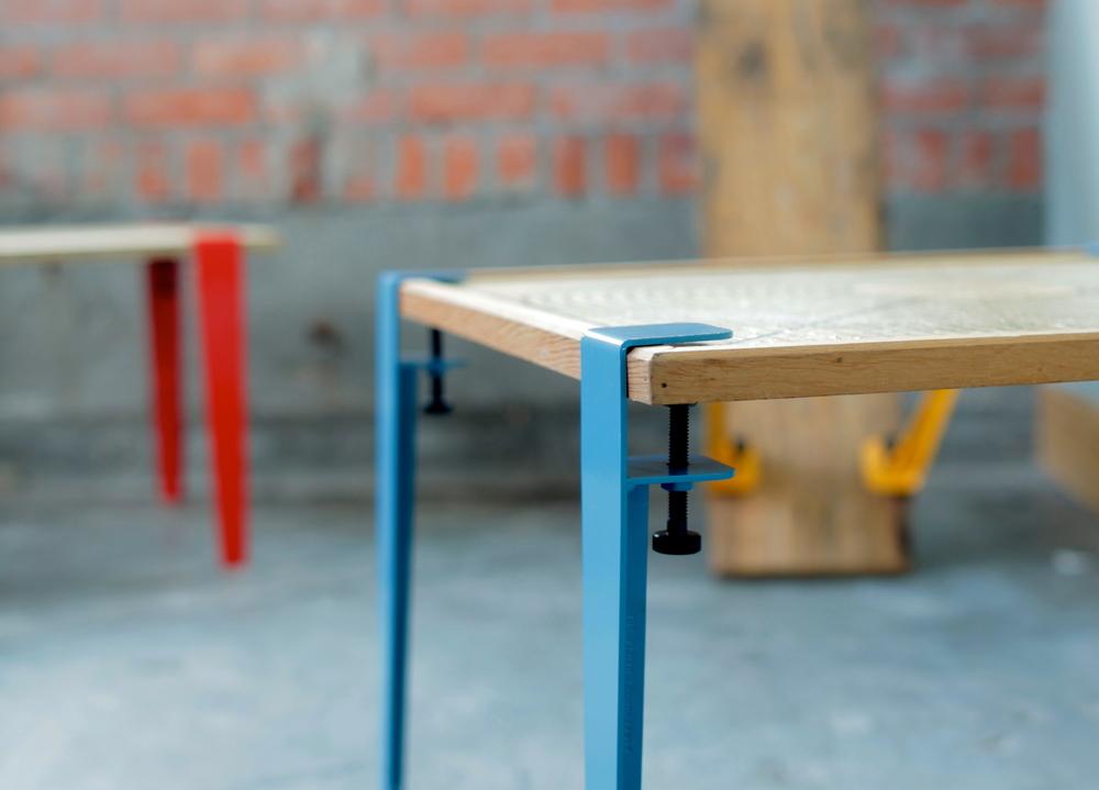 les pieds de table en metal the floyd