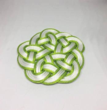 Knot_hairclip_greenwhite