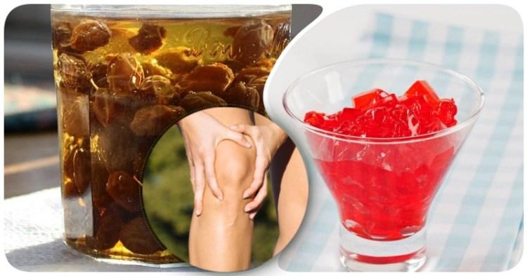 Изюм на джине и вишневое желе от боли в коленях:10 целительных методов облегчить страдания