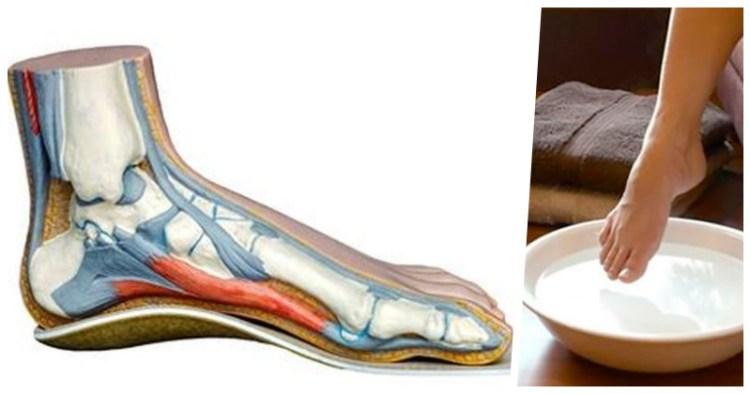 Целебный раствор, который вытягивает из ног всю боль