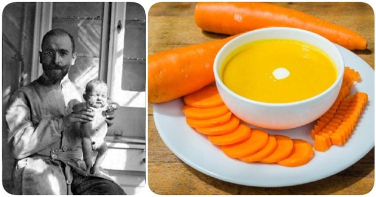 Лечение детской диареи морковным супом от великого лекаря Эрнста Монро