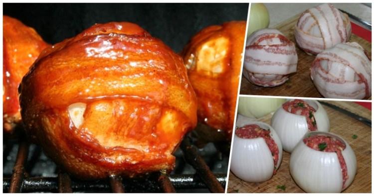 Луково-мясные шарики барбекю: оригинальное блюдо-диковинка для праздничного стола
