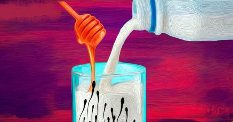 Сперма или молоко