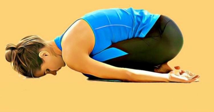 Есть в йоге удивительная поза: всего 15 минут в день избавит от проблем с засыпанием