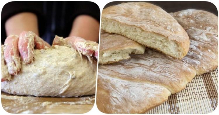 Рецепт простого и очень вкусного хлеба без замеса теста