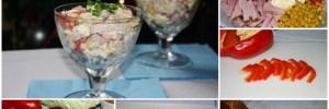 Салат с пекинской капустой и ветчиной имеет полное право находиться в любимой книге рецептов каждой хозяйки. А все потому, что ветчина и пекинская капуста придают свежесть и оригинальность блюду.