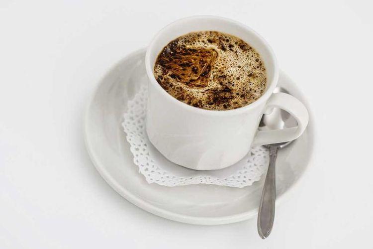 Кофе с добавлением лимона для дренажа