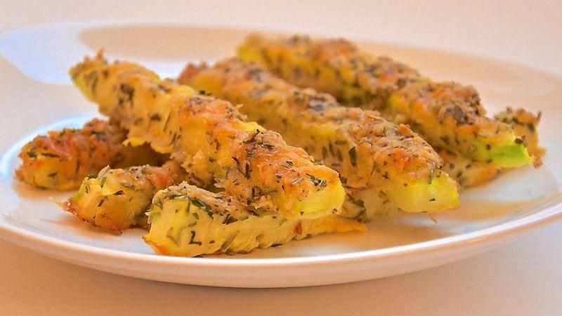 Как приготовить кабачки в духовке по-новому: рецепт блюда из кабачков в панировке