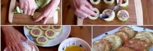 Жареные кабачки с мясом в кляре: изумительное лакомство в кабачковый сезон