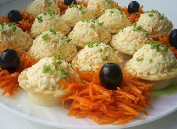 7 вкусных рецептов тарталеток с начинкой для праздничного стола