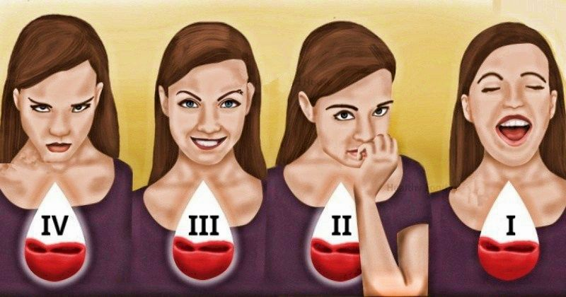 Характер, стрессы, питание и фигура: что о вас может рассказать группа крови