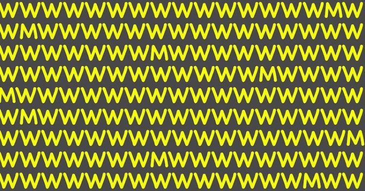 """Тест на наблюдательность за 10 секунд: сколько букв """"М"""" увидели, настолько вы внимательны к деталям"""