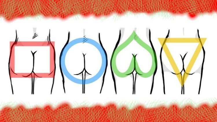 Круг или квадрат: что форма ягодиц расскажет о женском здоровье