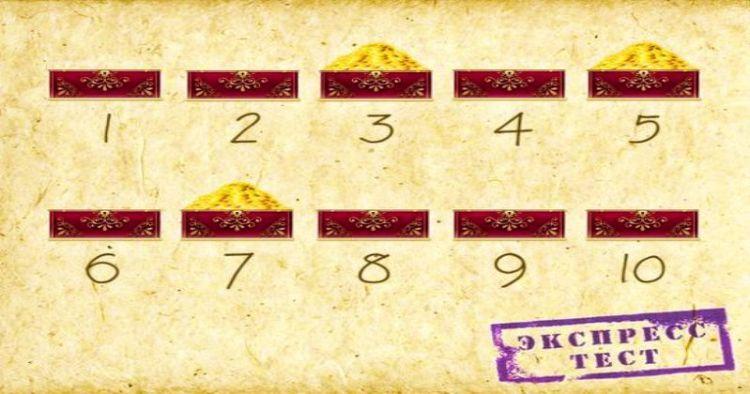 Экспресс-тест на интуицию: сколько шкатулок с золотом откроете, настолько вы экстрасенс
