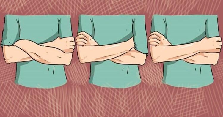 Язык жестов не обманет: как определить свои сильные стороны по тому, как вы скрещиваете руки