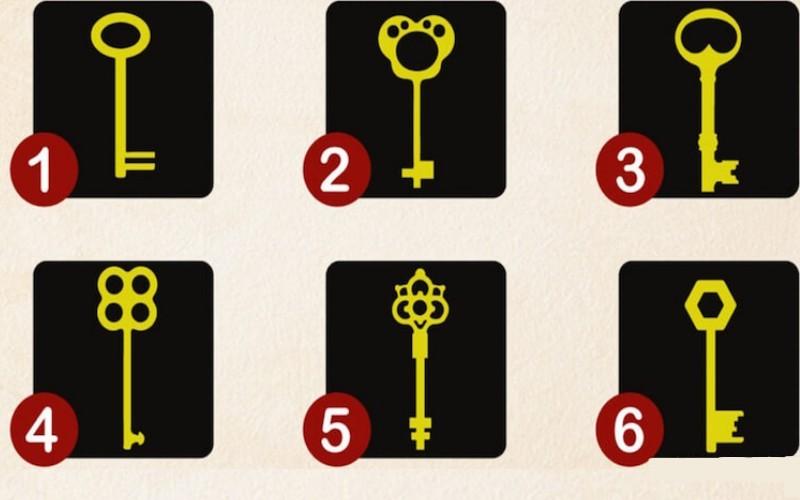 Тест с ключами от подсознания: выбрав одно изображение, можно узнать о себе много нового