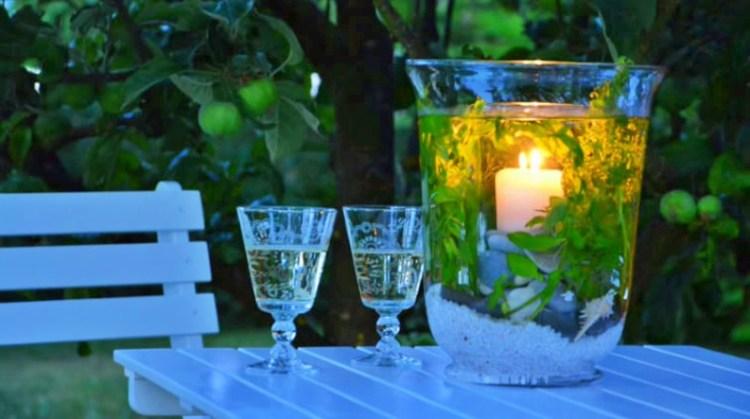 Свеча под водой: декор для дома собственными руками за пару минут