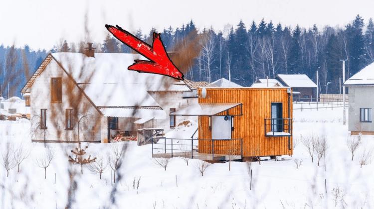Все соседи хором смеялись над хозяином миниатюрного домика, пока не вошли внутрь