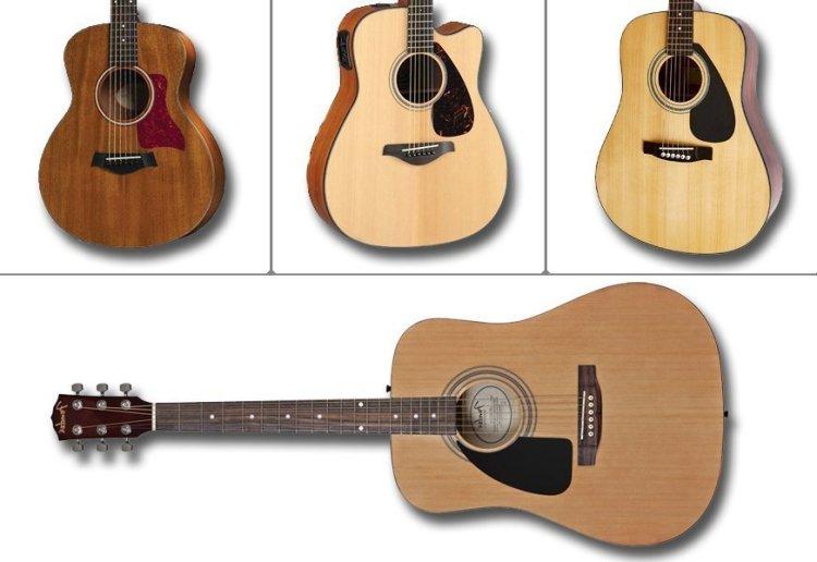 Особенности и преимущества акустических гитар формы джамбо