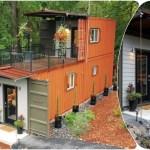 Пара построила комфортный и практичный дом из морских контейнеров, чтобы жить в добре, счастье и без финансовых долгов