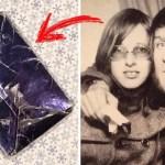 За 47 лет он так и не открыл подарок своей бывшей девушки, наконец пришло время посмотреть, что там