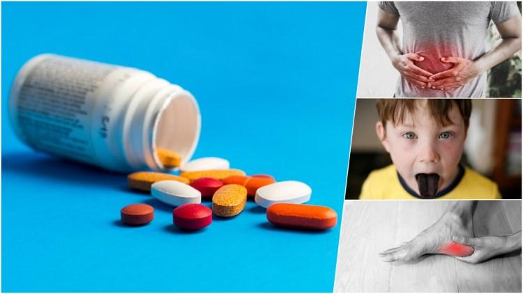 10 побочных эффектов антибиотиков и как нам быть в этом случае