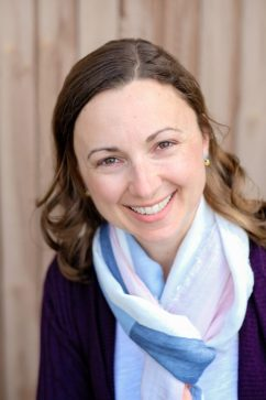 Headshot of Lori Straus, freelance writer, editor, and translator