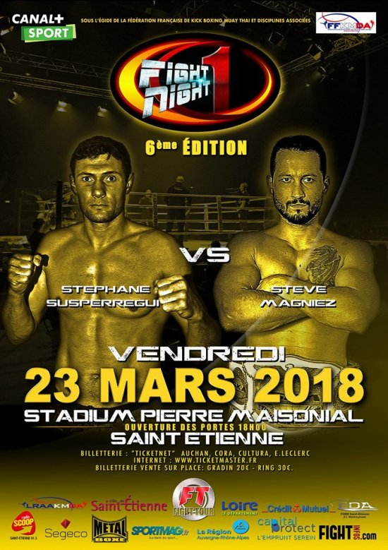 FFight Night One 6 : le retour de Stéphane